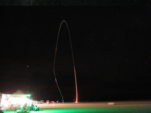 Night launch
