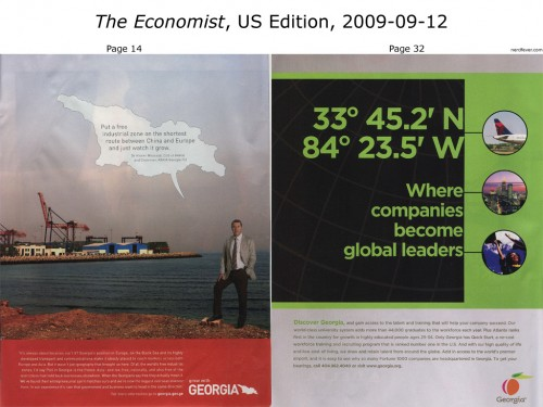 The Economist, 2009-09-12, US Edition (Georgia)