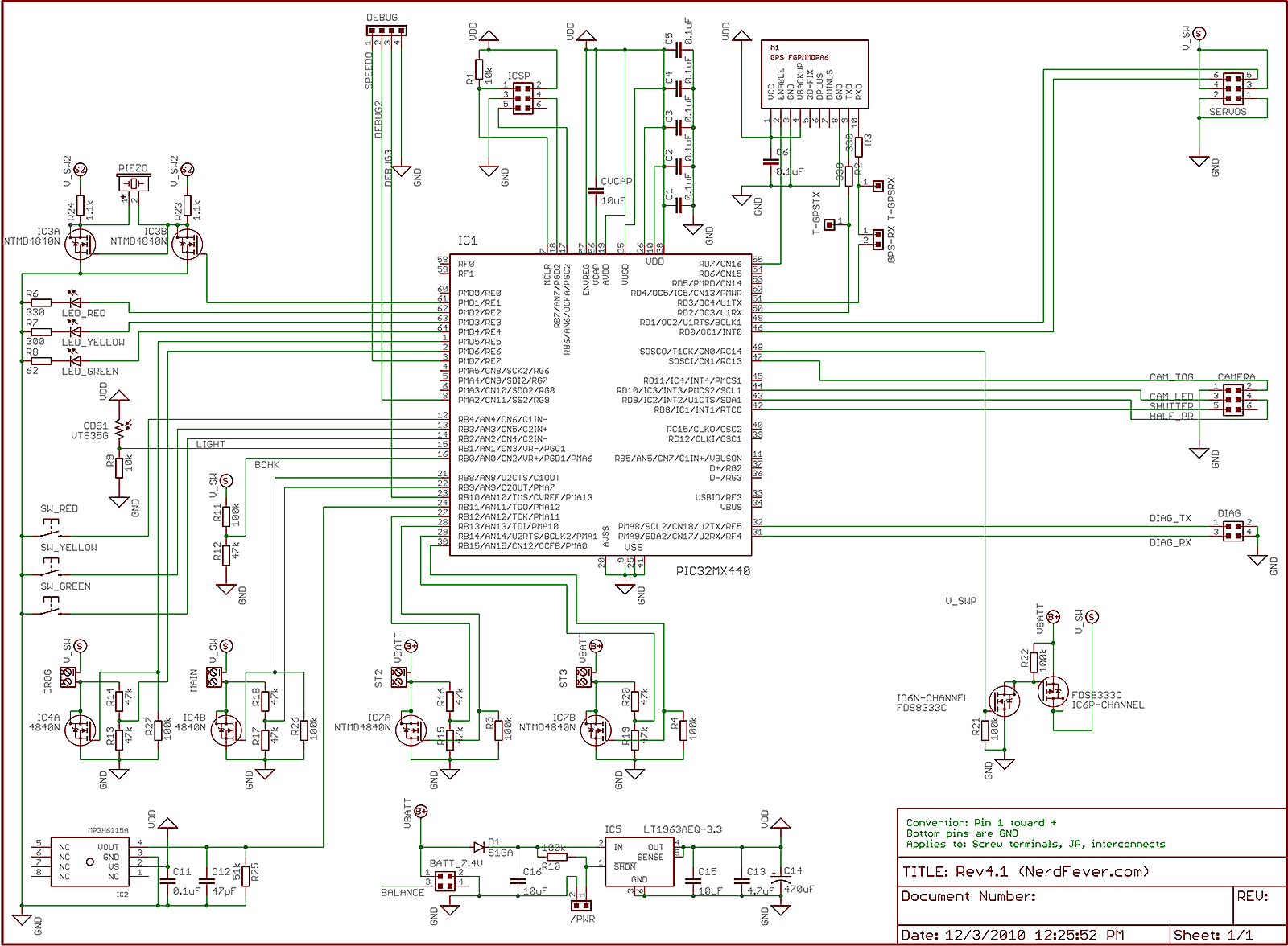"marine dash panel wiring diagram rtcc panel wiring diagram ""rev4"" pcb and software « nerd fever #6"