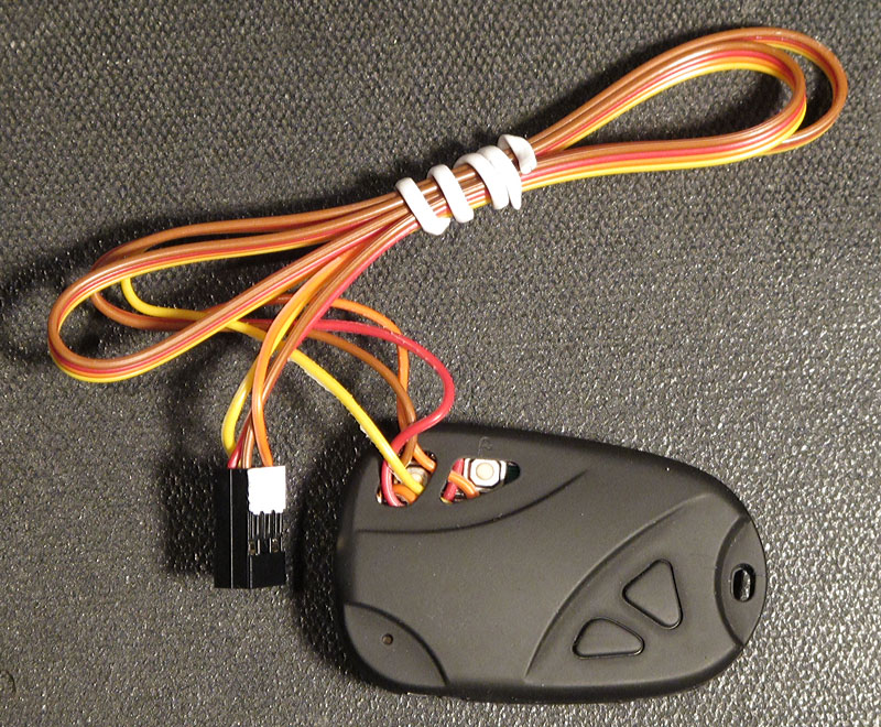 driving the  keychain camera with a microcontroller