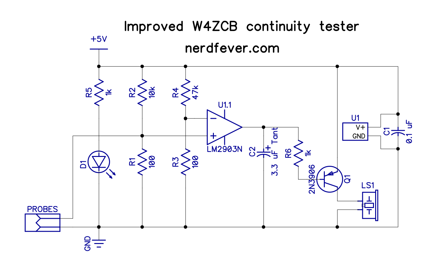 Improved w4zcb latching continuity tester nerd fever improvedw4zcbcontunitybeeper ccuart Choice Image